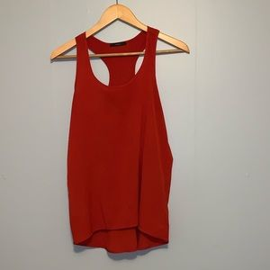 Red Soprano tank top